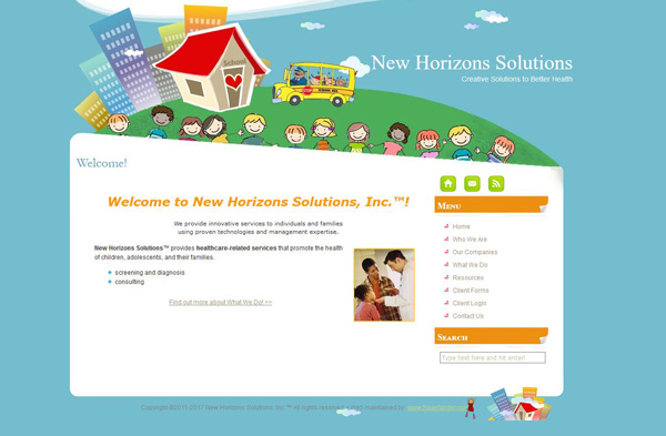 New Horizons Solutions